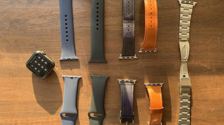 Apple Watch Series4のオススメバンド3選