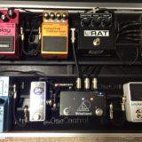 musicradarがプロギタリストのペダルボードを特集してます