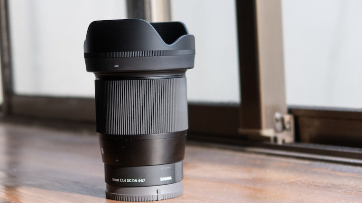 SIGMA 16mm F1.4 DC DN(SONY Eマウント)レビュー