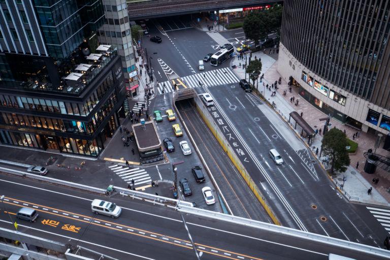 Ginza Sukiyabashi intersection4