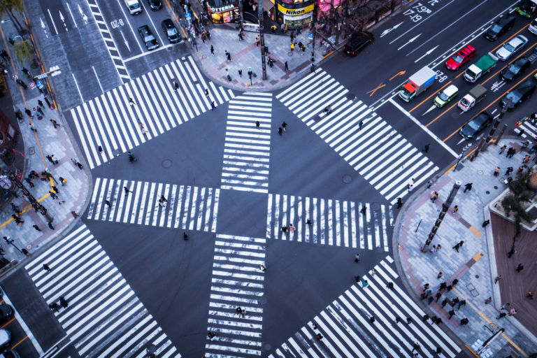 Ginza Sukiyabashi intersection1