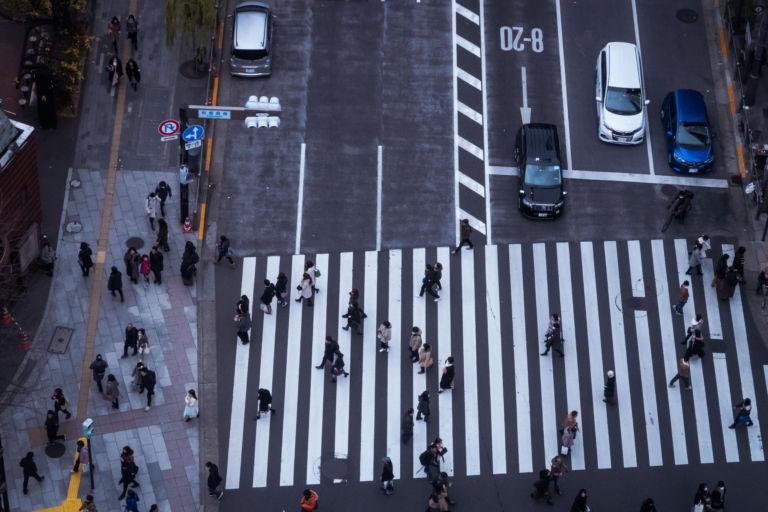 Ginza Sukiyabashi intersection5