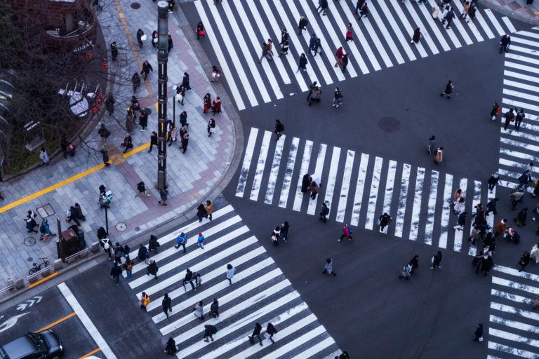 Ginza Sukiyabashi intersection6