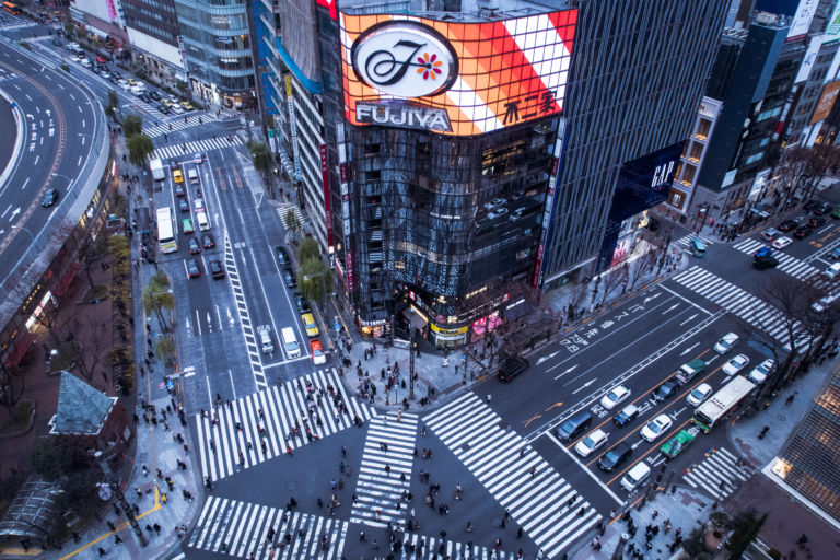 Ginza Sukiyabashi intersection3