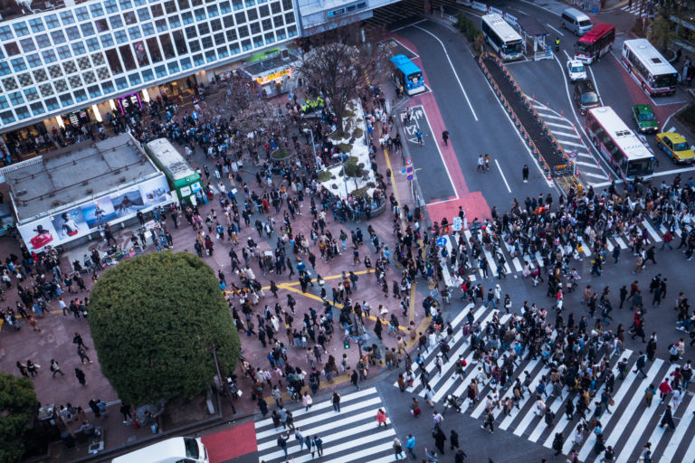 Shibuya CROSSING VIEW4