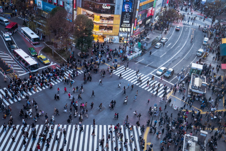 Shibuya CROSSING VIEW2