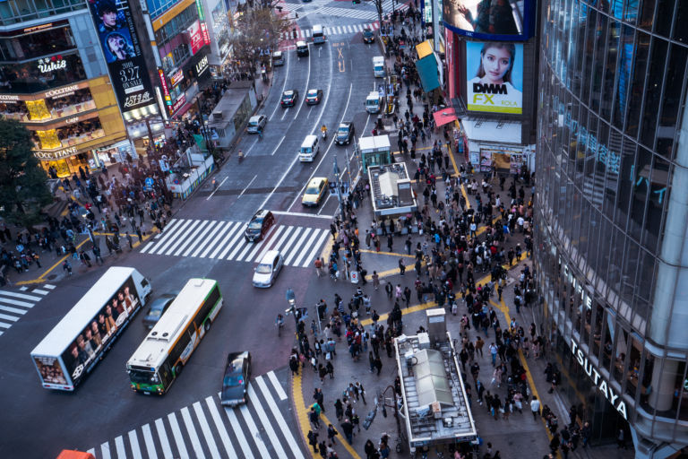 Shibuya CROSSING VIEW3
