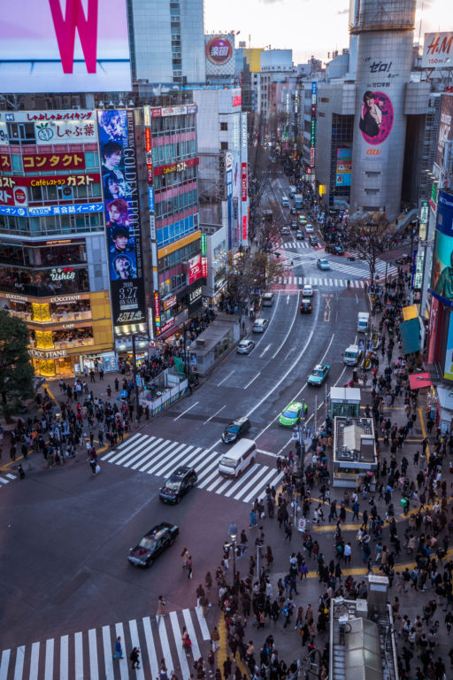 Shibuya CROSSING VIEW1